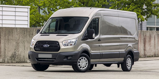 Achterbar Ford Transit