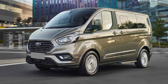 Imperiaal Ford Transit Custom