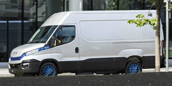 Opstappen Iveco Daily