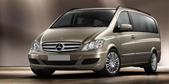 Bumperplaat Mercedes Vito -2014