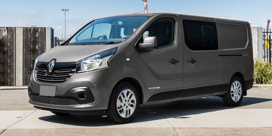 Opstappen Renault Trafic