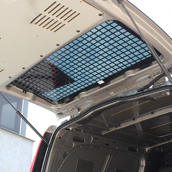 Window guard tailgate with and without wiper Ford Transit Custom 2012+