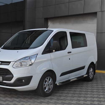 Side bar with 3 steps Ford Transit Custom 2012+ Wheelbase 2933 _product_product_product
