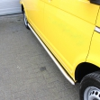 Side bars curved matte Volkswagen T5 2003+, T6 2015+ wheelbase 3000