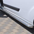 Side steps Volkswagen Caddy 2004+ 2010+ RT highpolish Length 1