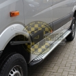 Side steps aluminium Mercedes Sprinter 2006-2018 and Volkswagen Crafter -2018