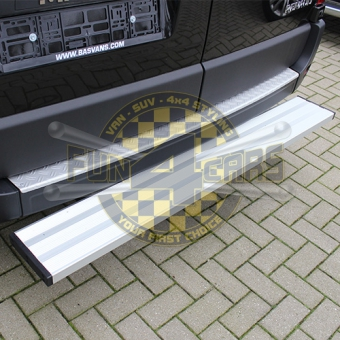Bumper plate Aluminium with checkered pattern Vauxhall Movano Renault Master Nissan NV400 2010+